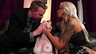 Ass sex with Nina Elle and Anna De Ville