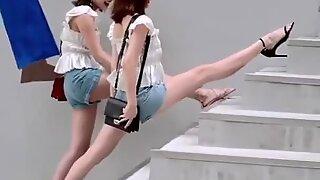Kínai sexy girl of tik tok, dance sxey hot