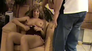 Busty amateur wives suck and fuck with cum on tits