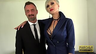 PASCALSSUBSLUTS - Busty Tanya Virago fed cum after HC anal