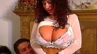 Group rectal fuck-fest Involving three Big Tit MILFs