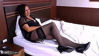 AgedLovE Finest Granny Andrea Hardcore Latina