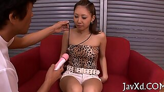 Gal massaged & banged