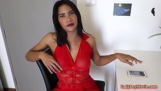 Ladyboy To Strips and Strokes