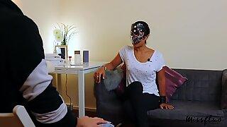 MissFluo - fuck-fest Therapist gives handjob & pulsating Oral Creampie