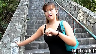 Terrific sex for a Thai girl