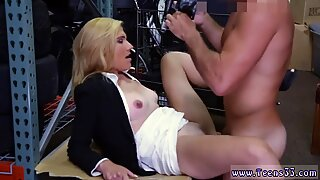 Blonde milf guy and hot chubby teen fucked big tits Hot Milf Banged At The PawnSHop